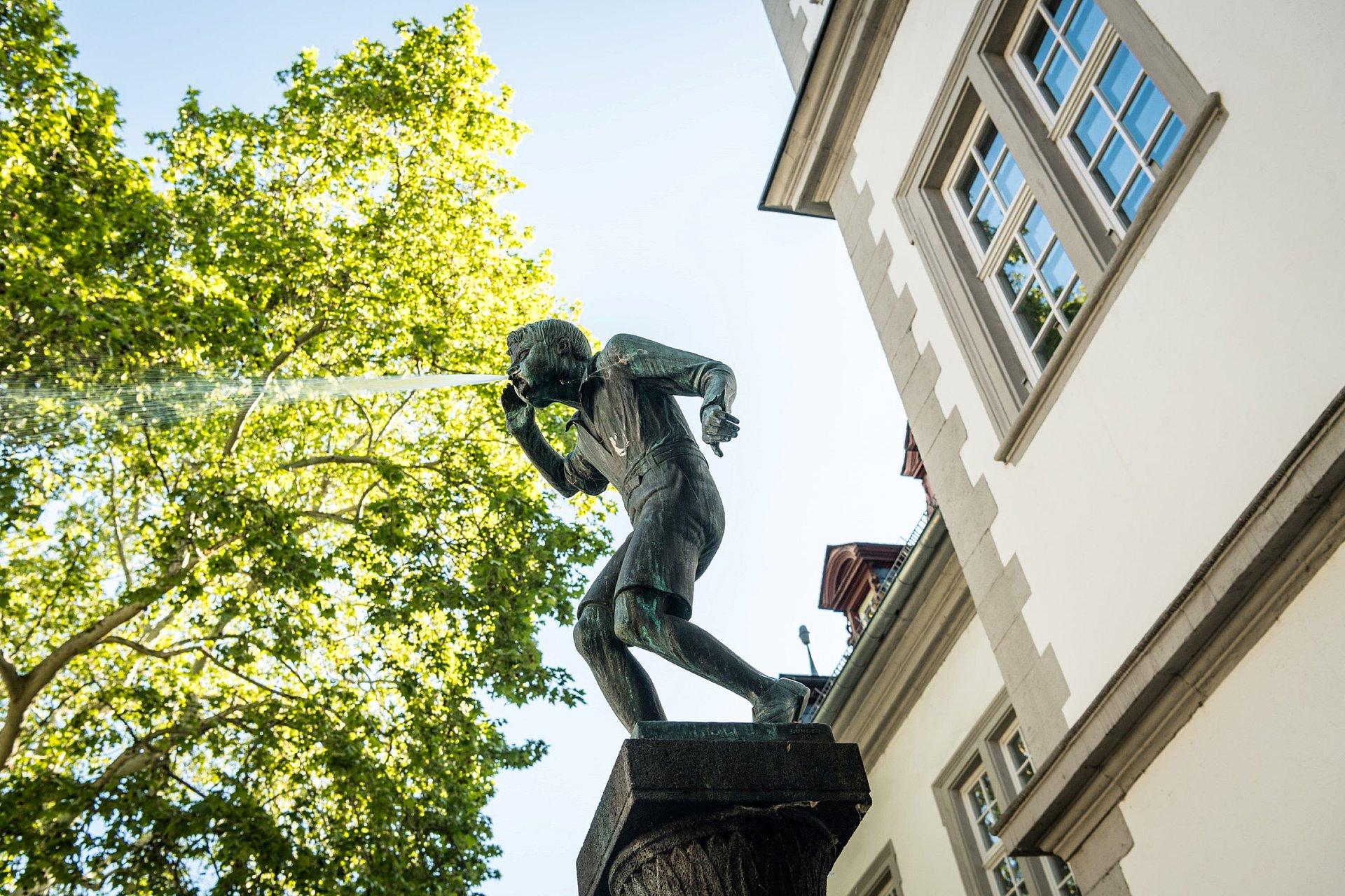 Schängelbrunnen in Koblenz, Romantischer Rhein