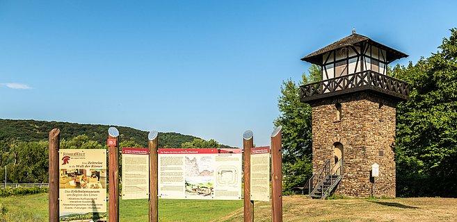 Limesturm in Rheinbrohl, Romantischer Rhein