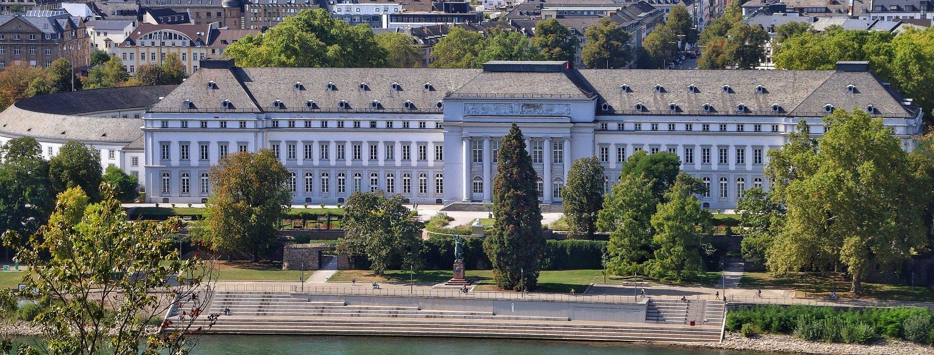 Kurfürstliches Schloss in Koblenz, Romantischer Rhein