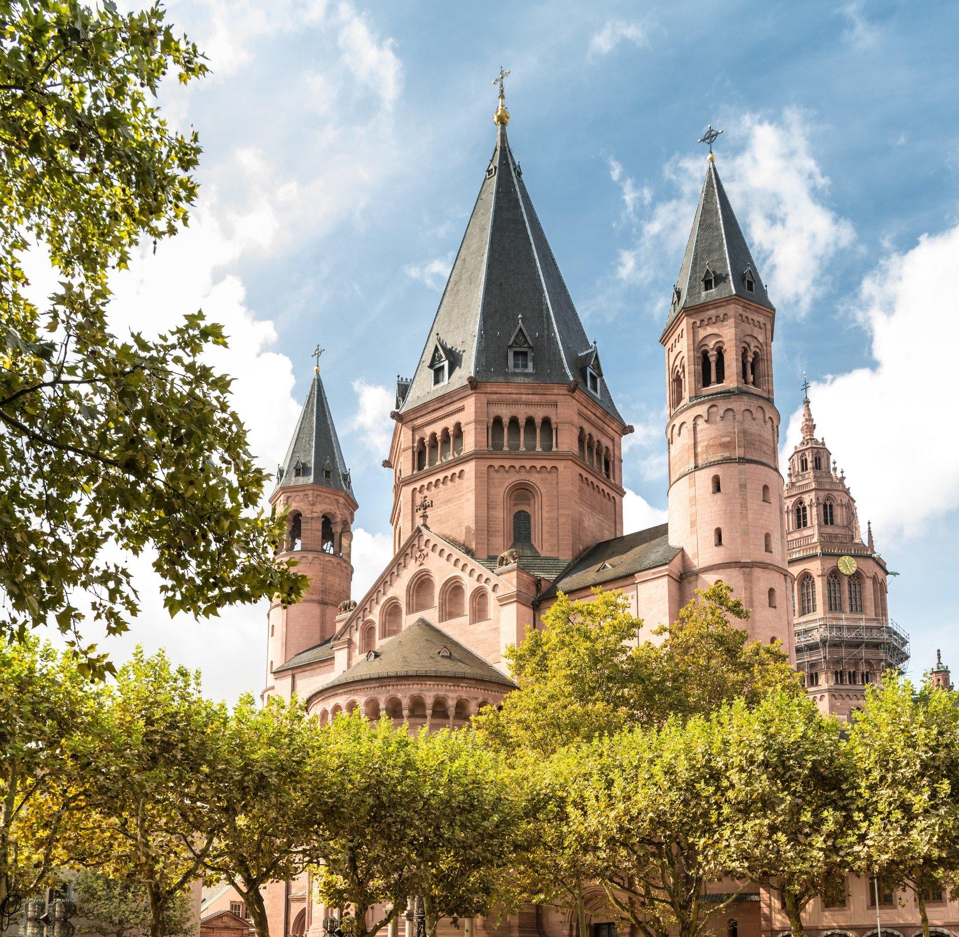 Der Mainzer Dom St. Martin