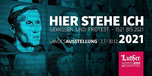 Landesausstellung Worms zum Reichstags-Jubiläum 2021, Rheinhessen