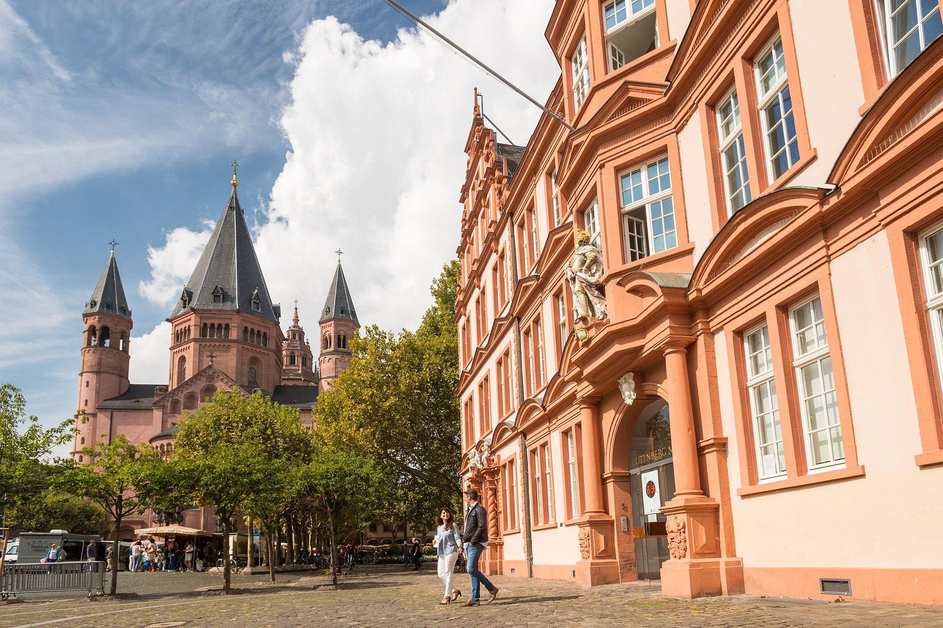 Gutenberg-Museum und Kaiserdom, Mainz