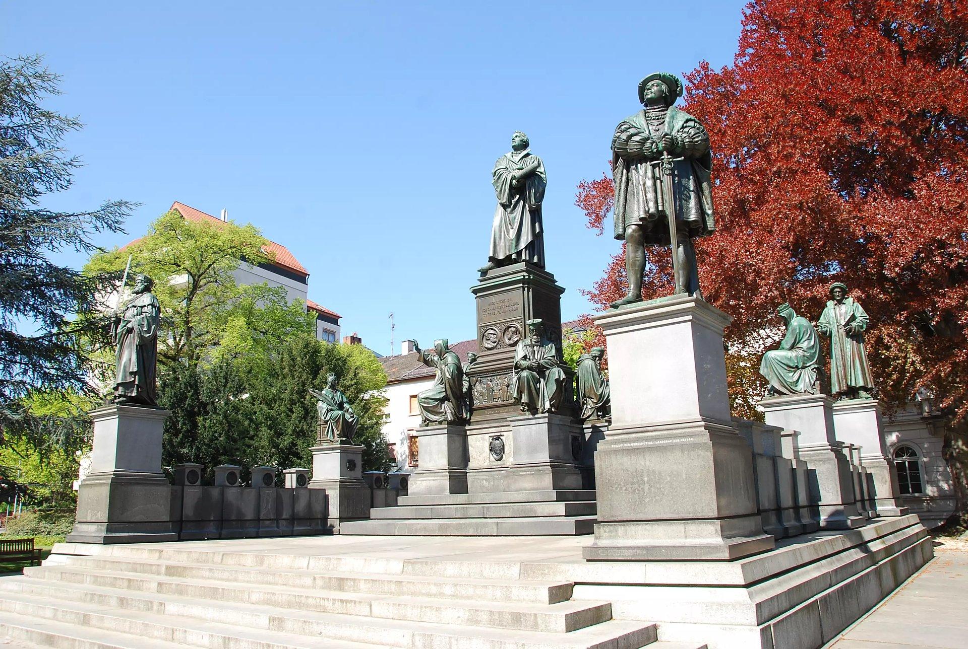 Das Lutherdenkmal in Worms, Lutherstadt
