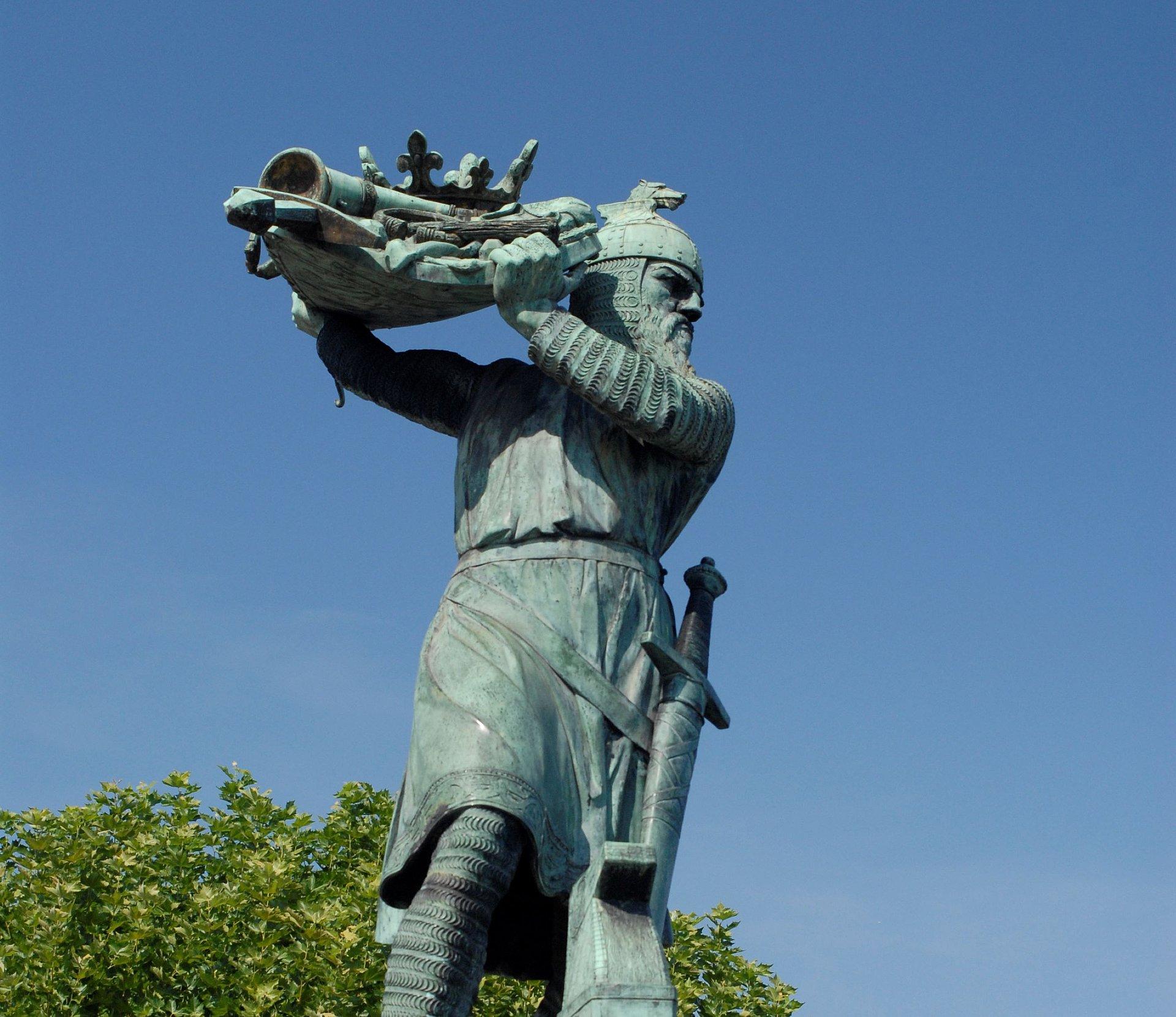 Hagendenkmal in Worms, Rheinhessen