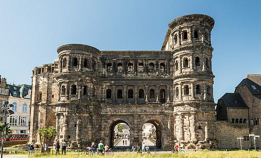 Die römische Porta Nigra, Trier