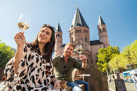 Weingenuss am Mainzer Dom, Rheinhessen