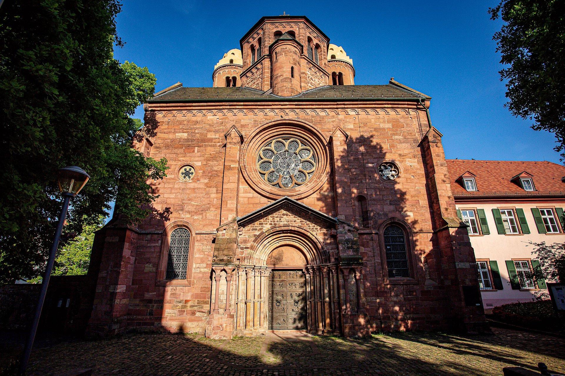 Die Kirche St. Paulus in Worms, Rheinhessen