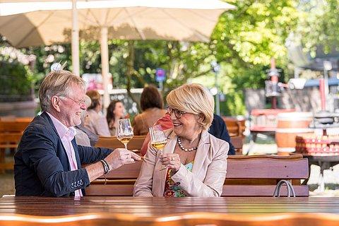 Weingenuss in Koblenz, Romantischer Rhein