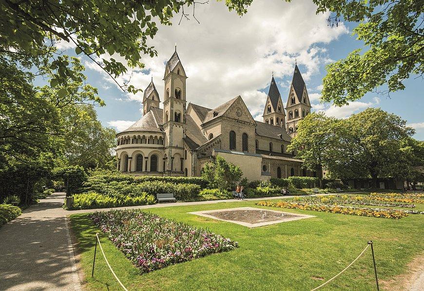 Die Basilika St. Kastor in Koblenz, Romantischer Rhein