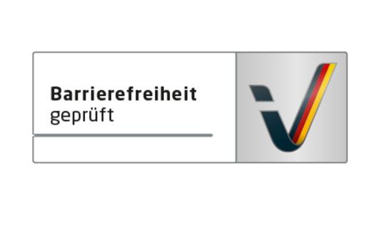 Logo Reisen für Alle - Barrierefreiheit geprüft