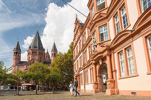 Gutenberg-Museum und Mainzer Dom, Rheinhessen