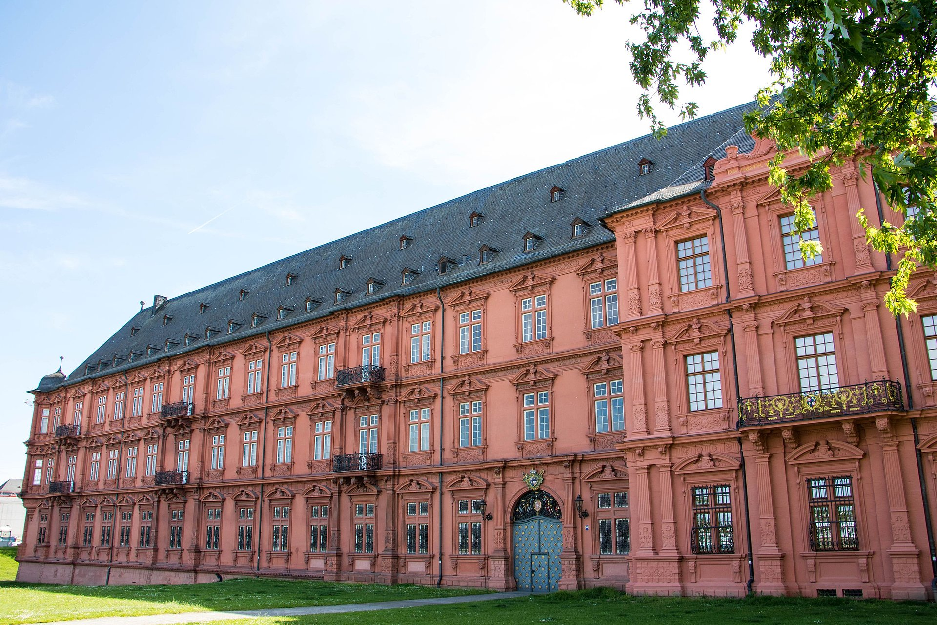 Das Kurfürstliche Schloss in Mainz, Rheinhessen