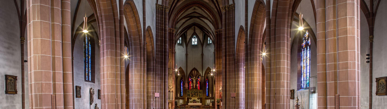 Das Mittelschiff der Liebenfrauenkirche, Worms