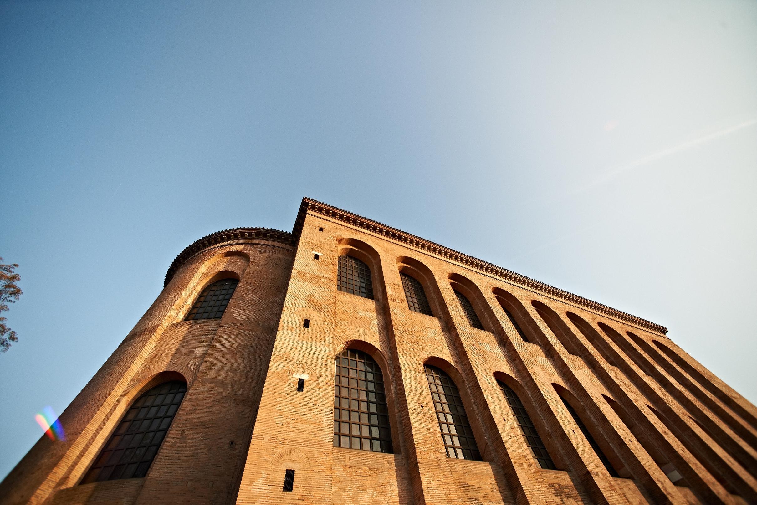 Die Konstantinbasilika, Teil des UNESCO-Weltkulturerbes in Trier, Römerstadt