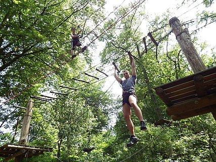 Kletterwald Parcour