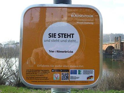 Lauschpunkt Trier Römerbrücke