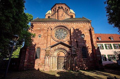 Kirche und Kloster St. Paulaus von außen