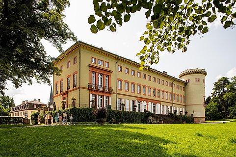 Schloss Herrnsheim parkseits