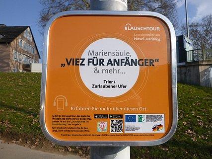 Lauschpunkt Trier Zurlaubener Ufer