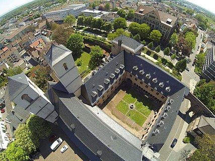 Museum Andreasstift Luftaufnahme