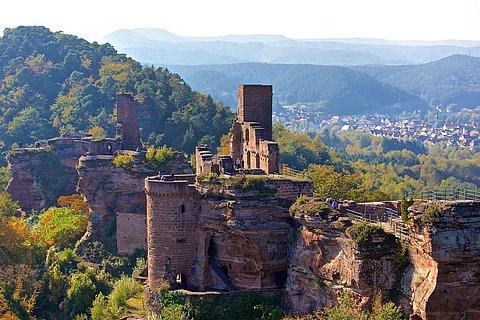 Burg Alt-Dahn - Grafendahn - Tanstein