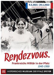 """Plakatmotiv zur Ausstellung """"Rendevouz."""""""